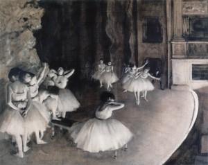 ব্যালের দৃশ্য, ১৮৭৪